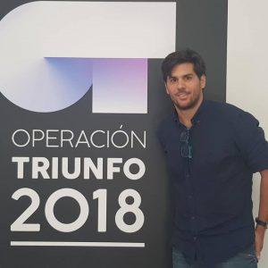 Oriol Mércadé profesor de la academia on-line de OT (Operación Triunfo)