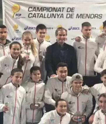 Campions i campiones de catalunya de menors!
