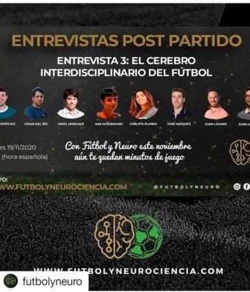 VIDEO: Entrevista post partido del 1 Congreso neurociencia y fútbol